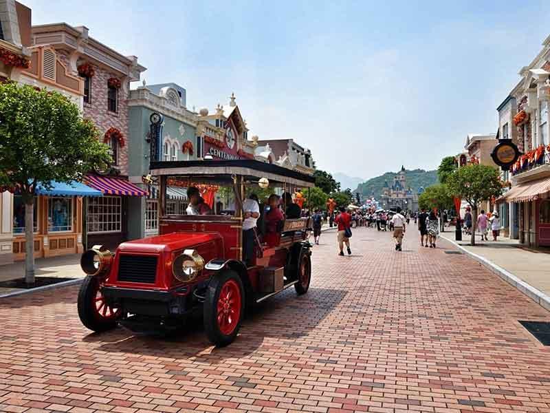 香港+迪士尼乐园+海洋公园+纯玩2日游+夜游维多利亚港(含船上晚餐)+送回深圳+可升级四星酒店