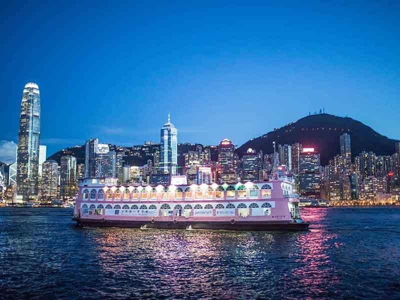 香港+经典1日游+送回深圳+夜游维多利亚港(含船上晚餐)