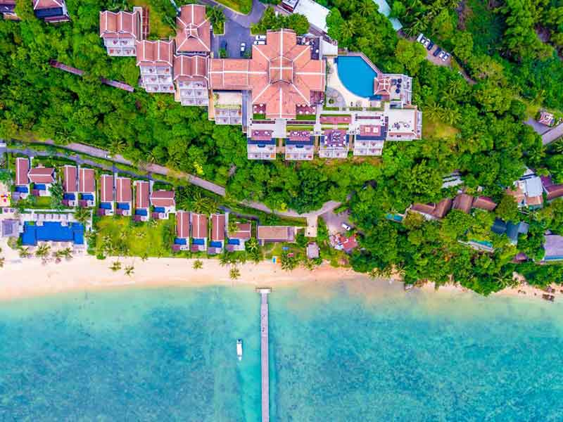 【苏梅岛】苏梅岛5天4晚自由行+住苏梅岛洲际度假酒店 +正点航班